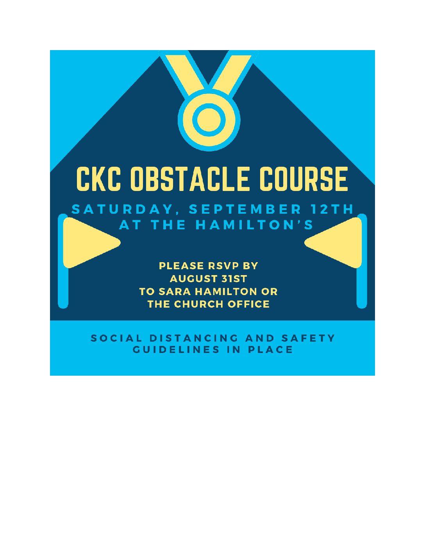 CKC Obstacle Course